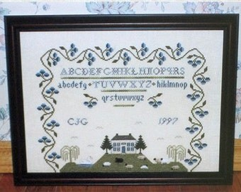 The Farm on Blueberry Hill - Griffin Needleart Designs - Cross Stitch Chart
