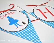 Wizard of Oz Banner Bunting
