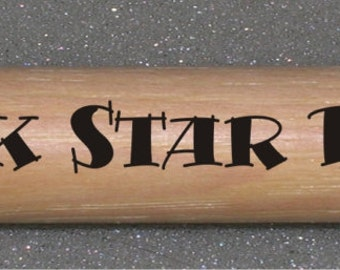 Custom Laser Engraved Drum Sticks