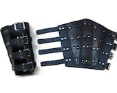 Leather Armored Bracers /...