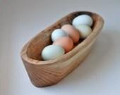 Curio Bowl Rustic Bread Bowl Wooden Serving Bowl