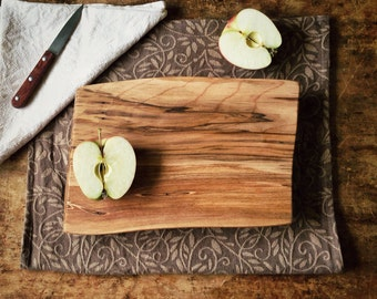 Beautiful Wood Cutting Board Silver Maple ServingTray Earth Friendly