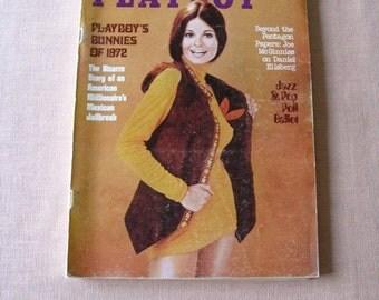 Playboy Magazine October 1972   Issue  Nudes Jazz Poll  Exc. Bunnies of 72 Original Inserts