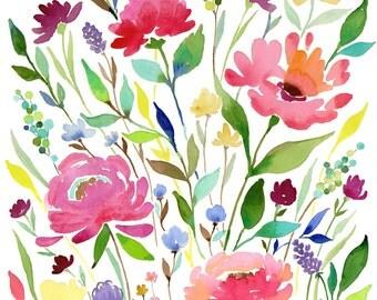 Art Print Let your Garden Grow