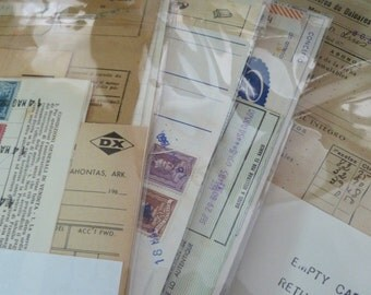 Office papers - Vintage Ephemera Pack