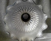 Glass Tulip Shaped Lamp Shade - Vintage