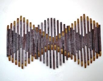 """BARREL ART - """"Inda"""" - Limited Edition -100% recycled Napa barrels"""