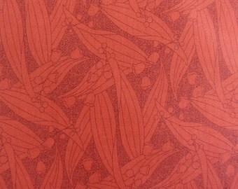 Rust Fabric  Rust on Rust Fabric  Thimbleberry Fabric ,  RJR