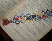 Tatted - Frivolite Bookmark