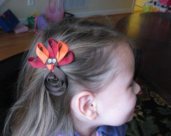 VIRGINIA TECH HOKIES Hair Clip or Lapel Pin, Va Tech Hokies Cheerleader Bow, Hokie Football Gear, Hokie Apparel