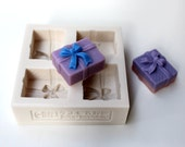 The Giftbox / 4 in 1 / Silicone Soap Mold ( Soap Republic )