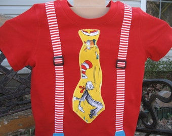 Dr Suess Cat in the Hat t- shirt