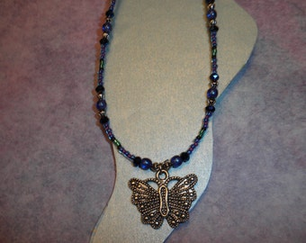 New Beautiful Butterfly Ankle Bracelet