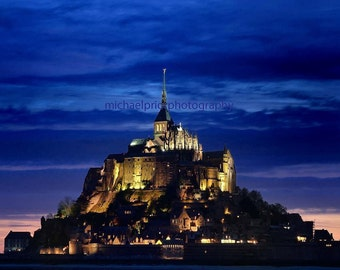 mt st michel in brittany france