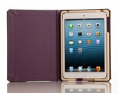 CLEARANCE - The Graduate Edition for iPad Mini 1/2/3 - Plum with Slate Gray