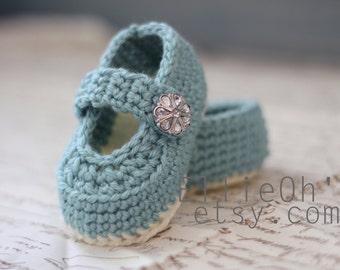 Newborn Mary Jane Shoes - EllieOhs