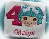 Personalized Boutique Lalaloopsy Birthday Shirt