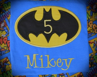Personalized Boutique Bat Shirt with Number