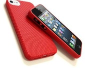 iPhone 5 Case - DIY - Cross Stitch it Yourself, Black, Blue or Red