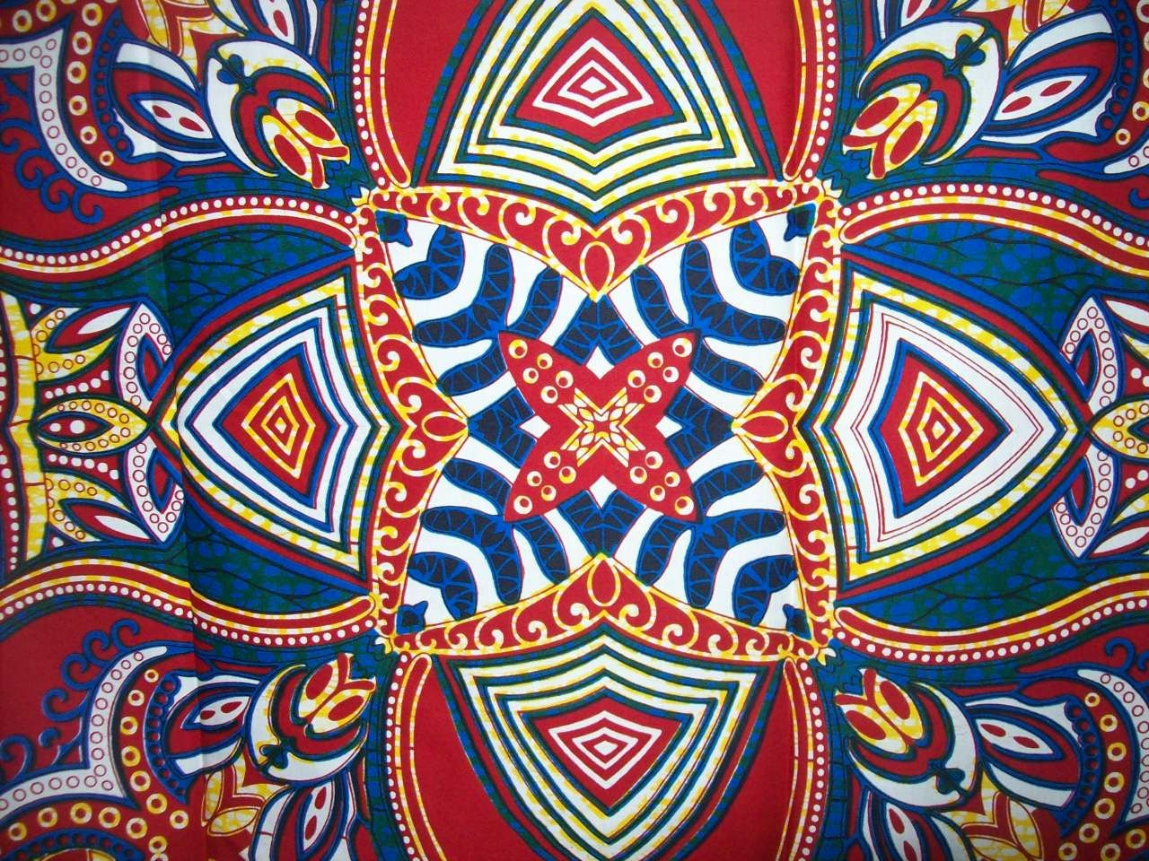 Vlisco African Print Fabric Per Half Yard While Supplies Lasts