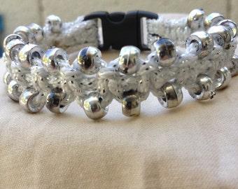 Dazzle Macrame Bracelet (Silver)