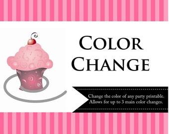 Color Change Printable Kits