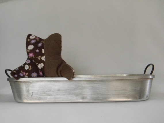 Vintage Aluminum Priscilla Ware Baking Pan With By