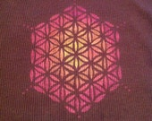 SALE. long sleeved flower of life T
