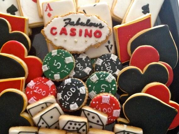 items similar to casino cookies
