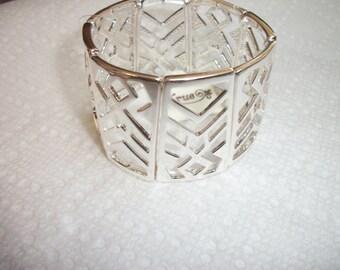 silver stretch cuffs