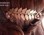 Aphrodite's Hair Comb -jewelry -hair accessory -Grecian- Greek accessories -Goddess-special occasion- Valentines day- Birthdays