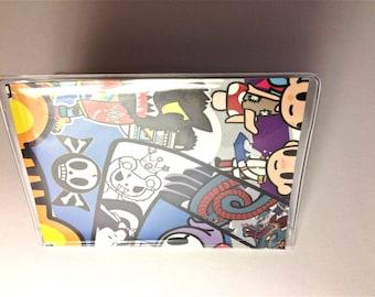 Toki Doki vinyl wallet