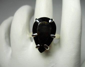 Smokey Topaz Gemstone Ring