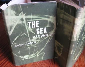 RACHEL CARSON The Sea Around Us 1st EDITION 1951