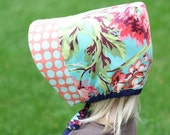 Sun Bonnet PDF Pattern Reversible - instant download