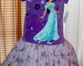 DISNEY  JASMINE Tee Shirt Dress size  S (5/6)