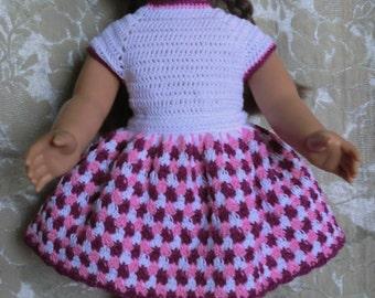 191 Skirt & Leotard Set  -  Crochet Pattern for American Girl Dolls