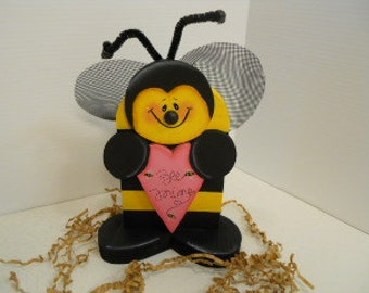 Valentine Bee Mine Buzzzzzzy Bee
