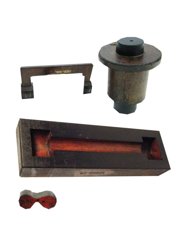 reserved for laurettacreations Vintage wood foundry molds