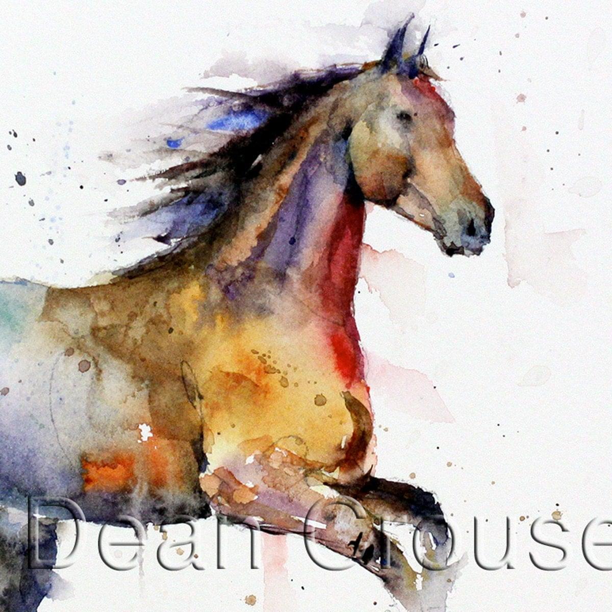 Dean Crouser Paintings Print by Dean Crouser