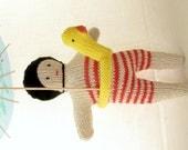 Swimmer doll
