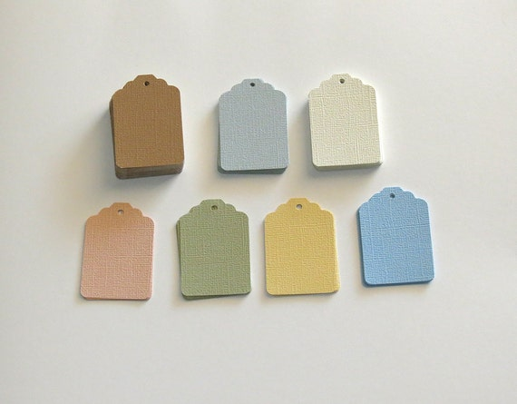 Tags Paper Cardstock Textured Gift Craft 90