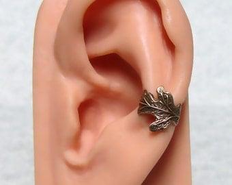 Oak Leaf Ear Cuff