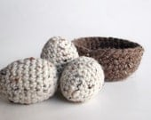 Waldorf -Crochet Toy- THE BIRDS NEST -Easter Sping  Decoration- Nature Table