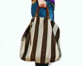 Bag PATTERN, DIY Tote, Sewing Tutorial Bag Purse