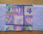 30 Terry and Flannel Baby Wipes or Family Cloth - You Choose the Prints