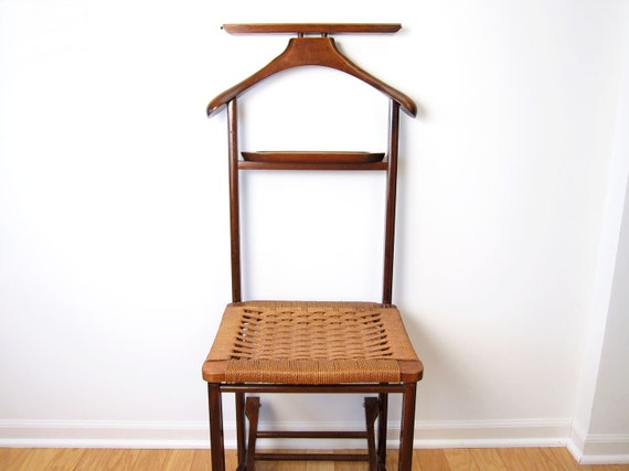 Mid Century Danish Modern Valet Butler Chair with Rope Seat : il570xN412690339fm4s from www.etsy.com size 570 x 427 jpeg 30kB