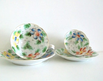 Vintage Occupied Japan Teacups Orion China