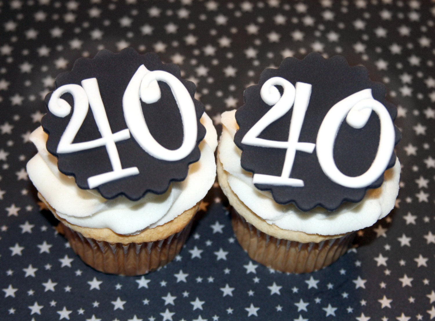 40th birthday cake decorations ideas