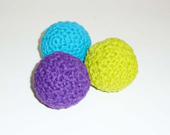 Medium Sized Kitty Catnip Ball Cat Toys - Choose Your Colors